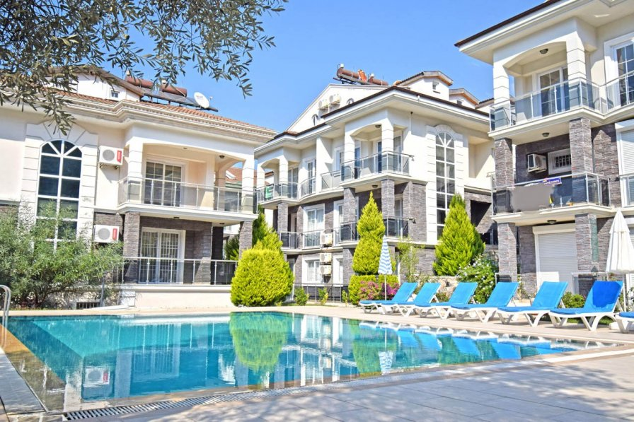 Apartment in Turkey, Hisarönü: Ölüdeniz Hisarönü'nde Havuzlu Günlük Kiralık Apartlar..