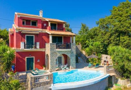Villa in Corfu, Greece