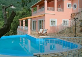 Villa in Corfu, Greece