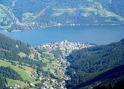 Apartment in Austria, Zell am See: Mountain above the town