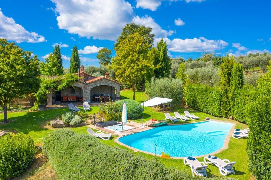 Villa in Italy, Parrano
