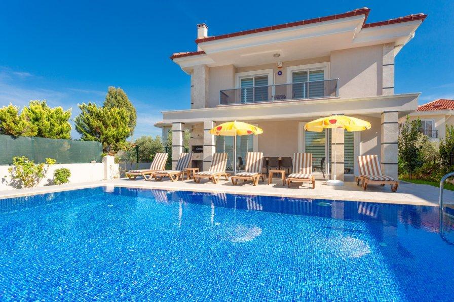 Owners abroad Villa Ozcelik