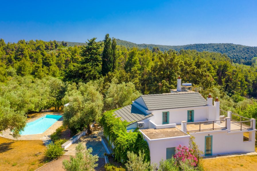 Owners abroad Villa Ambelonas