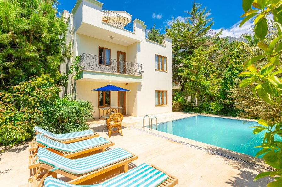 Owners abroad Villa Hebessos