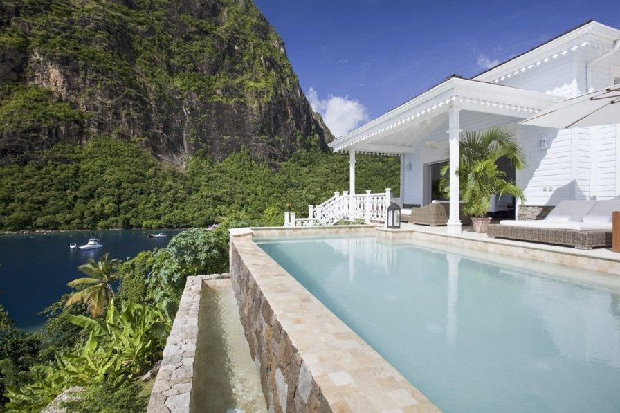 Villa in Saint Lucia, Soufriere: Sugar Beach Resort Photography