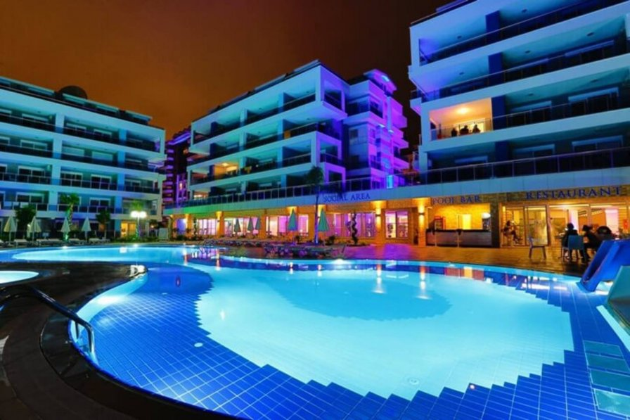 Crystal River Alanya, Oba 1+1 Luxury Apartments