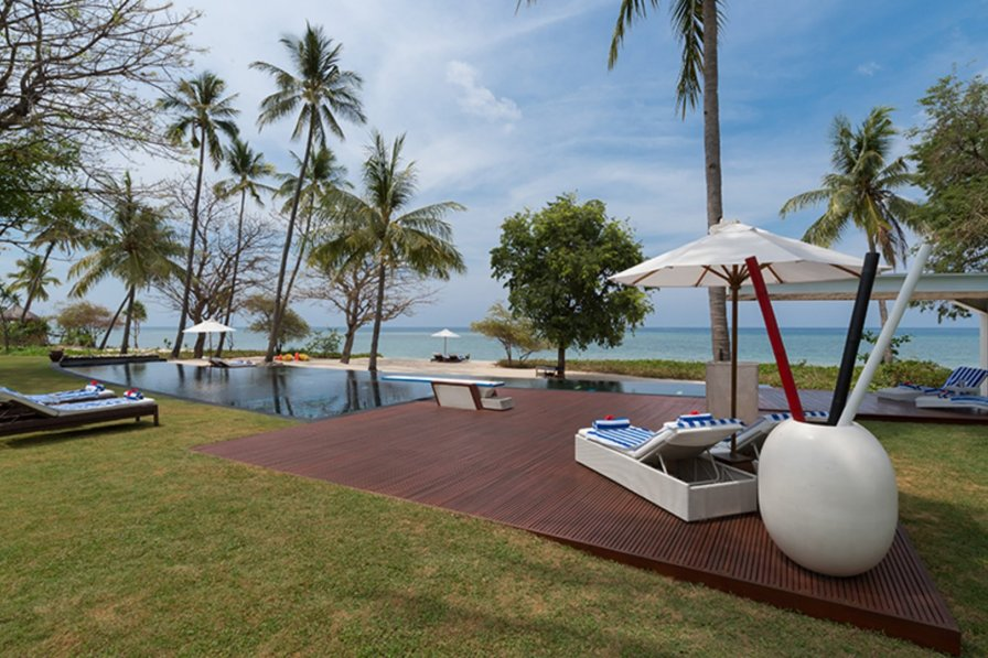 Villa rental in Sigar Penjalin, Indonesia, with private pool