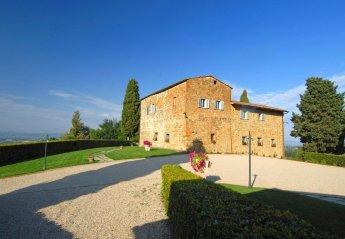 7 bedroom Villa for rent in San Gimignano