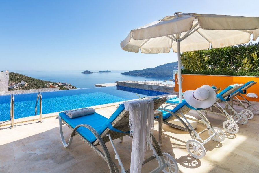 2 Bedroom Luxury Villa With Private Pool and Seaview Villa Turkey