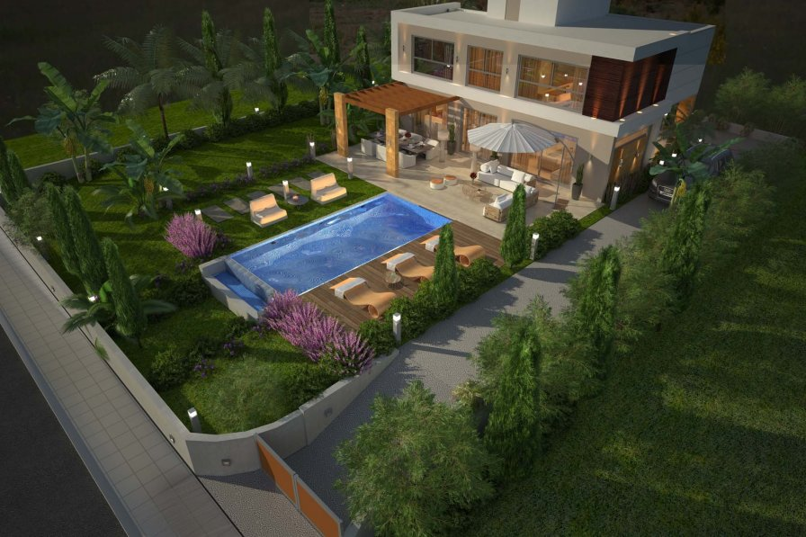 Coral Elite Residence 11. Luxury holiday villa with private pool.