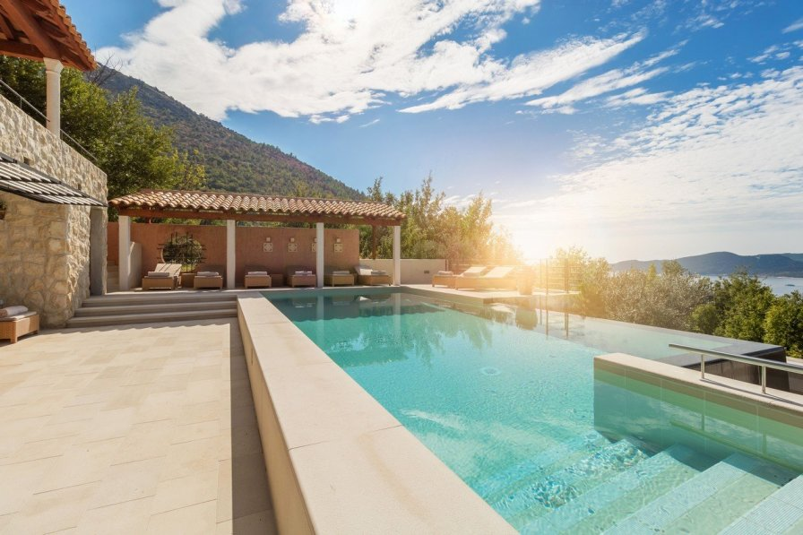 Luxury Double Room Christoph with Pool