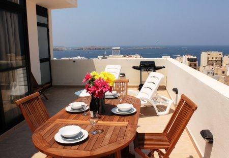 Penthouse Apartment in Bugibba, Malta