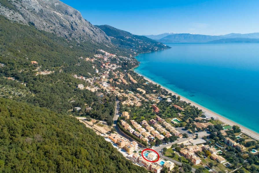 Owners abroad Akti Barbati Villa Tria