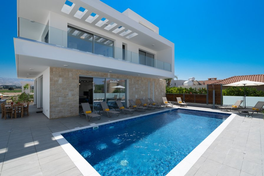 House in Cyprus, Coral Bay Centre