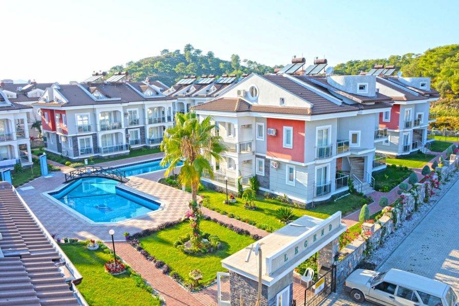 Apartment in Turkey, Calis: Fethiye, Çalış'ta 2+1 günlük kiralık havuzlu yazlÄ�..