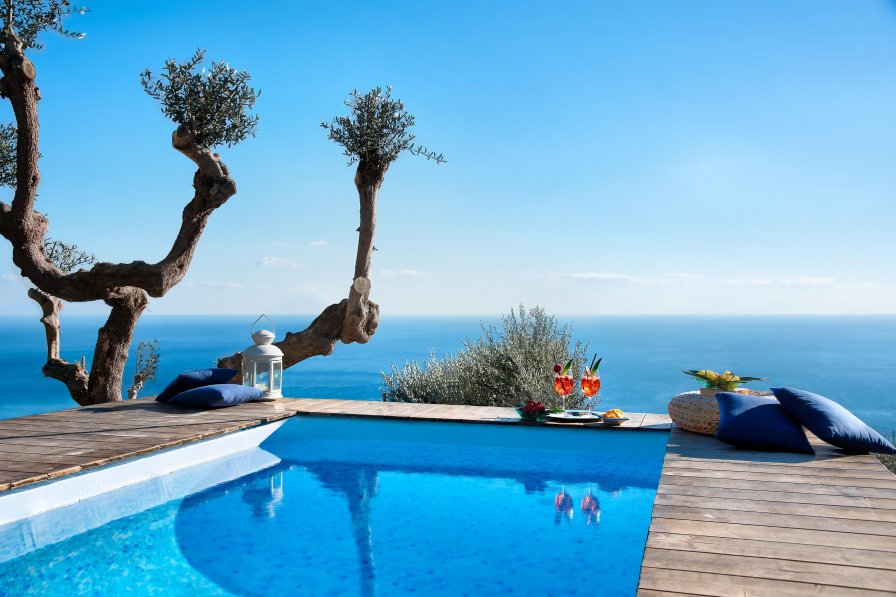 Villa Islamorada - Pool and Sea View