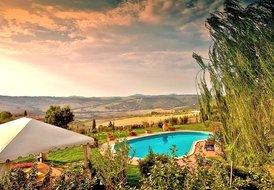 Villa Bellavista Val d'Orcia between Pienza and Montepulciano