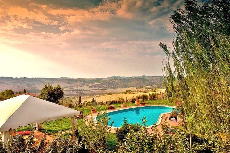 Villa in Italy, Pienza