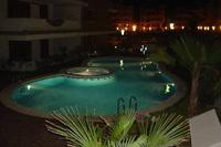 Apartment in Spain, LA ENTRADA - Ocean Front Resort: Pool area by night: La Entrada Ocean Front Re..