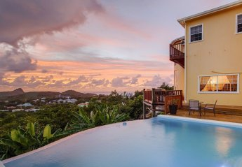 3 bedroom Villa for rent in Rodney Bay