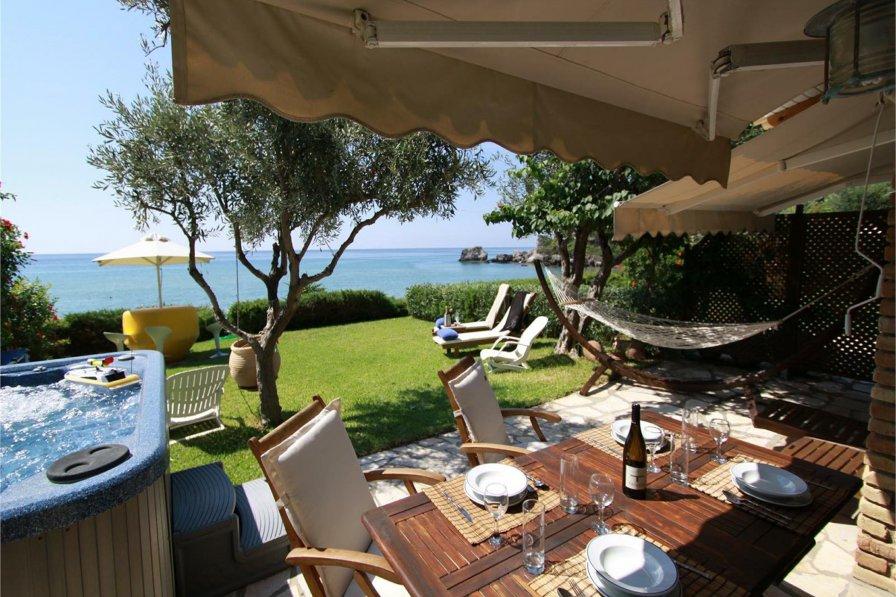Beachfront Villa 13, Glyfada Beach , Corfu