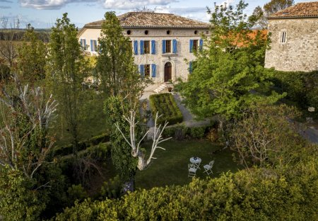 Villa in Montels, the South of France
