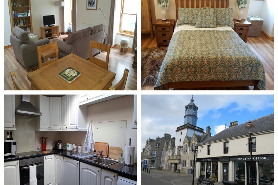Apartment in United Kingdom, Dingwall South