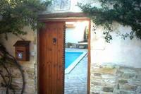 Villa in Cyprus, Larnaca, north: Main Doors from road