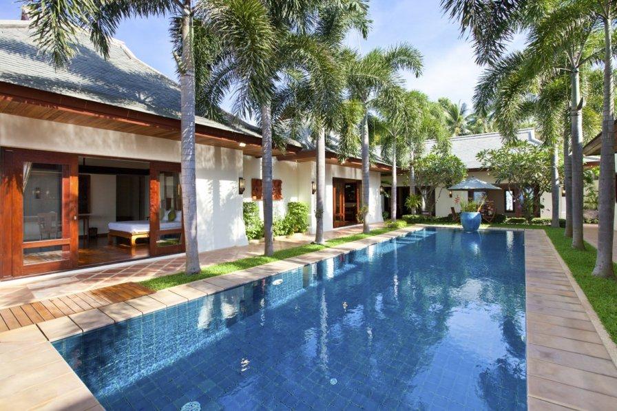 Villa in Thailand, Maenam: Villa Champak at Miskawaan Estate, Private Luxury Villas located on Koh..