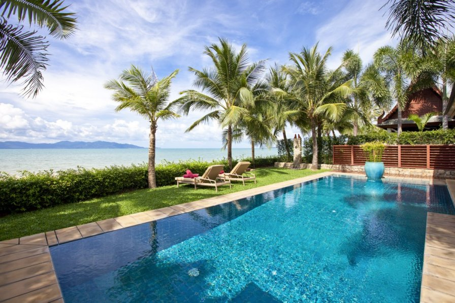 Villa in Thailand, Maenam: Villa Acacia at Miskawaan Estate, Private Luxury Villas located on Koh ..