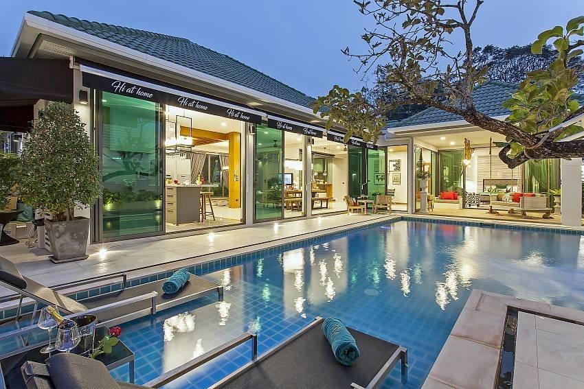 Chill & Chic Villa | Stylish 4-Bedroom Pool Villa in Pattaya