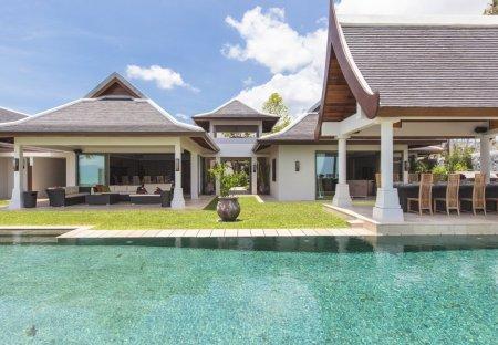 Villa in Maenam, Koh Samui: Miskawaan Residence, a luxury, private villa located on Maenam beach, ..