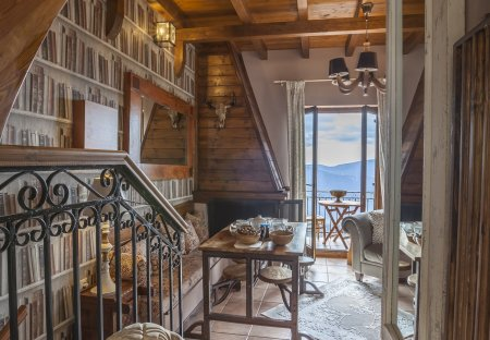 Chalet in Delphi, Greece