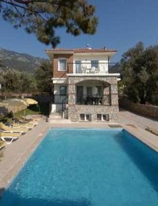 Villa in Turkey, Olu Deniz: Our villa with large pool