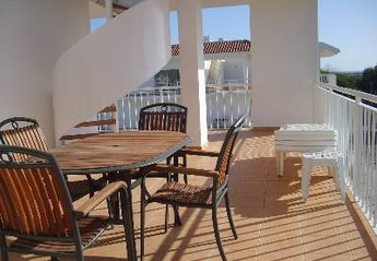 Penthouse Apartment in Portugal, Cabanas: Outside Balcony