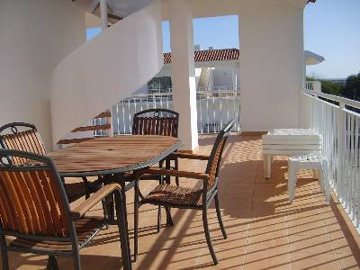 Penthouse apartment in Portugal, Cabanas De Tavira: Outside Balcony