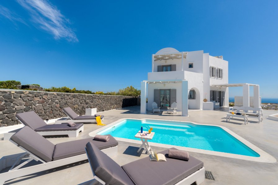Villa in Greece, Akrotiri (Santorini)