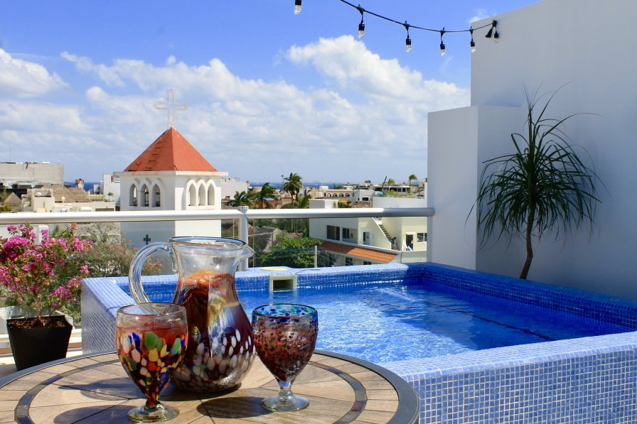 Owners abroad Oasis Chloe - A Luxury Penthouse Condo in Playa del Carmen, MX