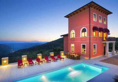 Villa in Oprtalj, Croatia