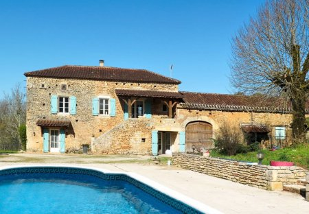 House in Montcabrier, the South of France
