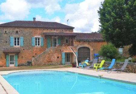 Villa in Montcabrier, the South of France