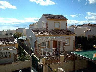 Villa in Spain, Benidorm: Picture 1 Front veiw of the villa