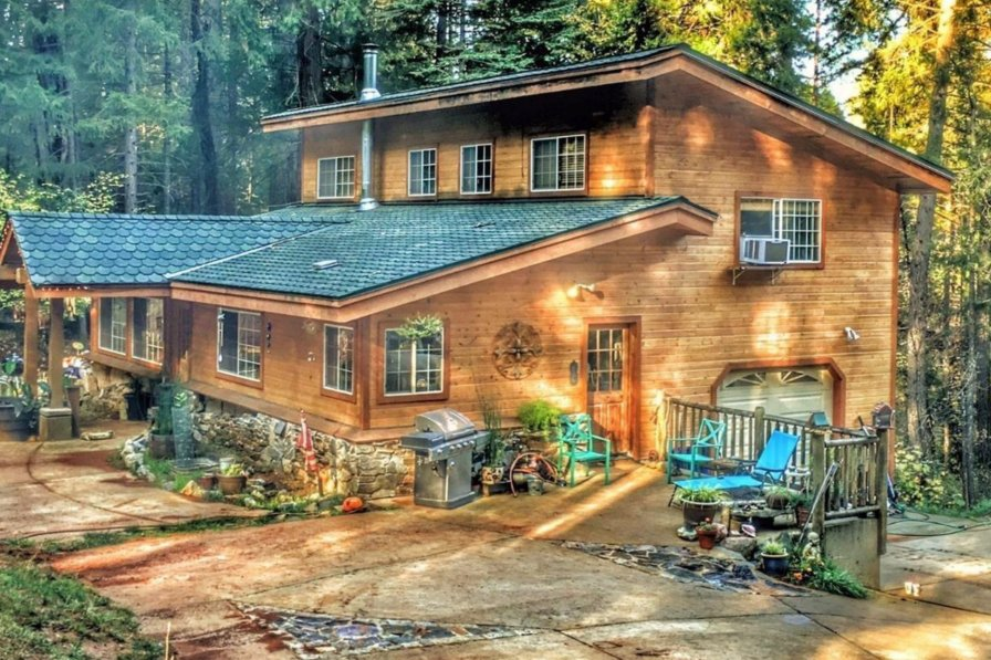 House in USA, Northern California