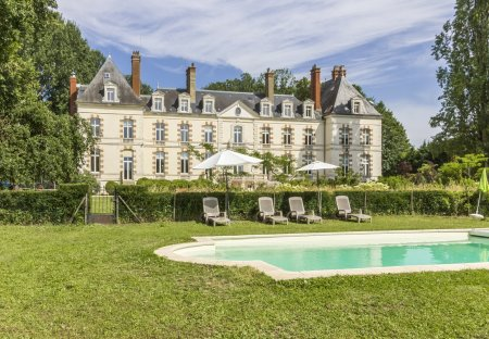 Chateau in Percey, France