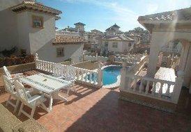 Villa in La Zenia, Spain: The view overlooking YOUR pool
