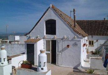 Studio Apartment in Spain, Vejer de la Frontera: View from the azotea. (Roof-Terrace). Studio 2