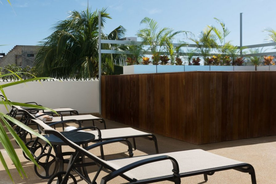 Owners abroad Arrecife A4 ➸ Bright Studio with Relax Rooftop & Pool