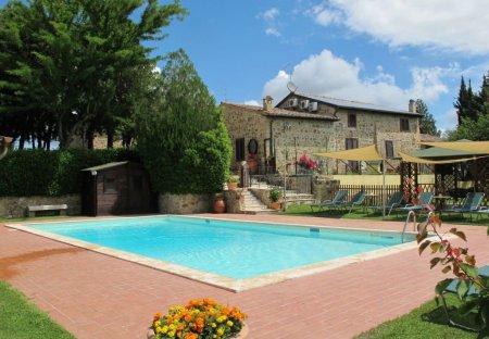 Villa in Montalcino, Italy