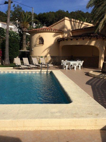 Spacious villa with private pool in Moraira, Costa Blanca