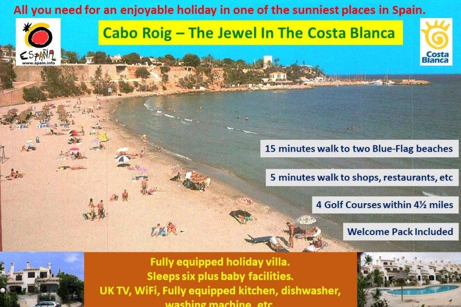 Villa in Spain, Cabo Roig